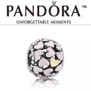 791283EN40 Retired Pandora Abundance of Love Charm